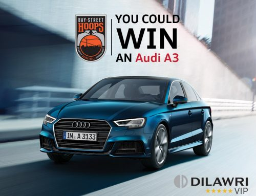 Join the Fan-Raising Challenge and Win an Audi A3!